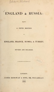 Cover of: England and Russia