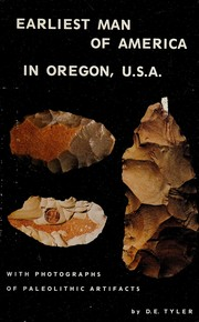 Cover of: Earliest man of America in Oregon, U.S.A