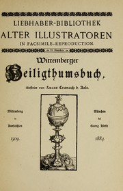 Cover of: Wittemberger Heiligthumsbuch