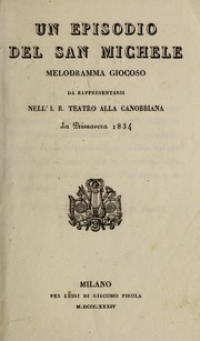 Cover of: Un episodio del San Michele