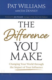 Cover of: The Difference You Make