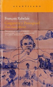 Cover of: Gargantúa y Pantagruel