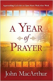 Cover of: A Year of Prayer