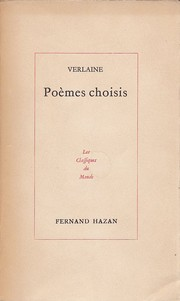Cover of: Poemes choisis