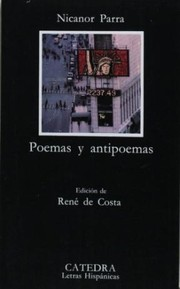 Cover of: Poemas y antipoemas