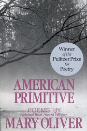 Cover of: American Primitive