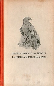 Cover of: Landesverteidigung
