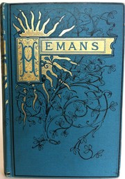 Cover of: The Poetical Works of Mrs. Hemans