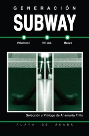Cover of: Generación Subway