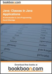 Cover of: Java: Classes in Java Applications An Introduction to Java Programming
