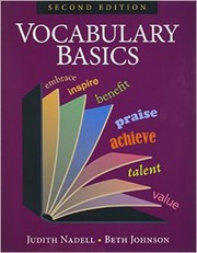 Cover of: Vocabulary Basics