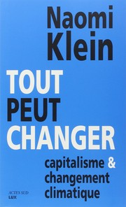 Cover of: Tout peut changer