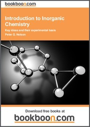 Cover of: Introduction to Inorganic Chemistry Key ideas and their experimental basis