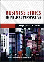 Cover of: Business in biblical perspective