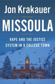 Cover of: Missoula: rape and the justice system in a college town