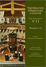 Cover of: Psalms 1-72 (Reformation Commentary on Scripture)