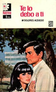 Cover of: Te lo debo a ti