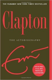 Cover of: Eric Clapton: The Autobiography