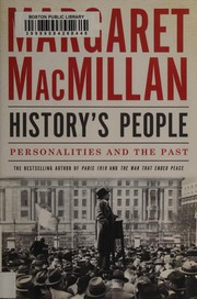 Cover of: History's People: personalities and the past