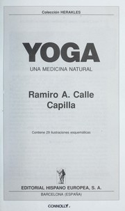 Cover of: Yoga