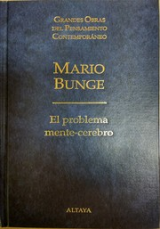 Cover of: El problema mente-cerebro