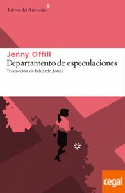 Cover of: Departamento de especulaciones