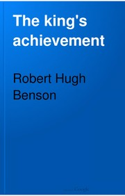 Cover of: The king's achievement