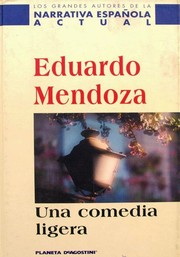 Cover of: Una comedia ligera