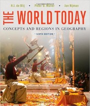 Cover of: The World Today: Concepts and Regions in Geography (6th edition)