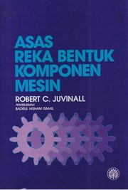 Cover of: Fundamentals of machine component design