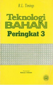 Cover of: Materials Technology, Level 3 (Longman Technician Series. Mechanical and Production Enginee)