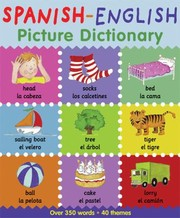 Cover of: Spanish-English Picture Dictionary
