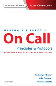 Cover of: On Call Principles & Protocols ANZ 3e