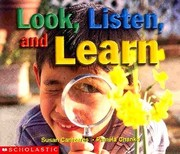 Cover of: Look, Listen, and Learn (Learning Center Emergent Readers)