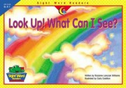 Cover of: Look Up What Can I See (Sight Word Readers)