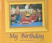 Cover of: My Birthday