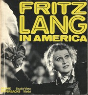 Cover of: Fritz Lang in America