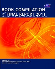 Cover of: Book Compilation of Final Report 2011