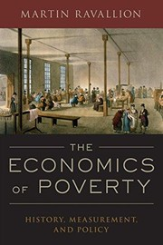 Cover of: THE ECONOMICS OF POVERTY: HISTORY, MEASUREMENT, AND POLICY