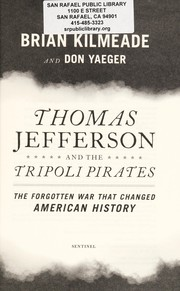 Cover of: Thomas Jefferson and the Tripoli Pirates