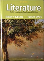 Cover of: Literature: An Introduction to Reading and Writing, AP Edition, Second Edition