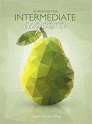 Cover of: Intermediate Algebra (7th Edition)