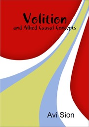 Cover of: Volition and Allied Causal Concepts