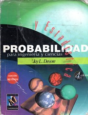 Cover of: Probabilidad y estadística para ingeniería y ciencias