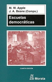 Cover of: Escuelas democráticas