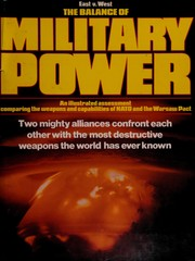 Cover of: The Balance of military power
