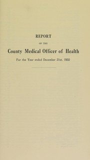 Cover of: [Report 1955]