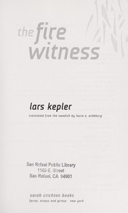 Cover of: The fire witness