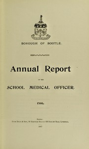 Cover of: [Report 1916]