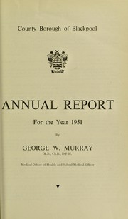 Cover of: [Report 1951]